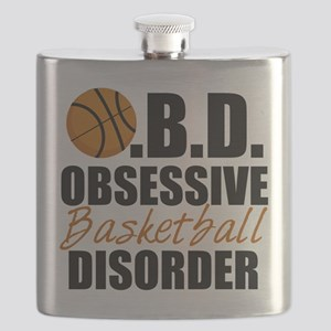 Funny Basketball Flask