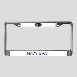 Bratpin License Plate Frame
