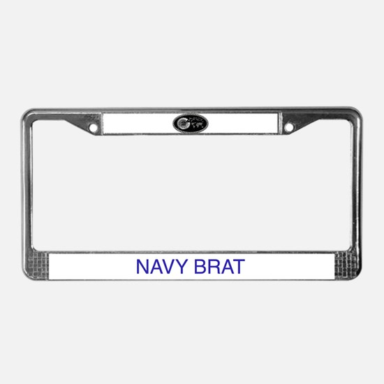 Bratpin License Plate Frame