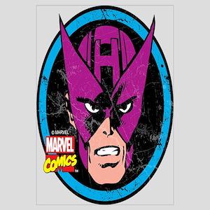 Hawkeye Face Wall Art