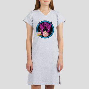 Hawkeye Face Women's Nightshirt