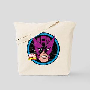 Hawkeye Face Tote Bag