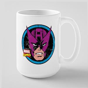 Hawkeye Face Large Mug