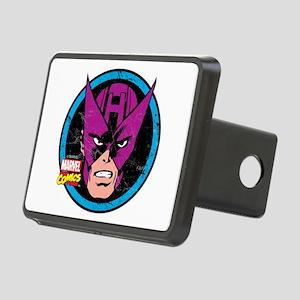 Hawkeye Face Rectangular Hitch Cover