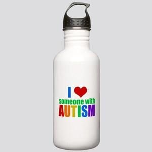 Autism Love Stainless Water Bottle 1.0L