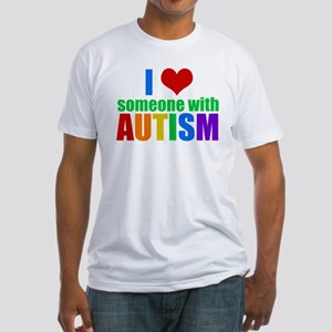 Autism Love Fitted T-Shirt