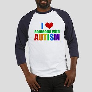 Autism Love Baseball Tee