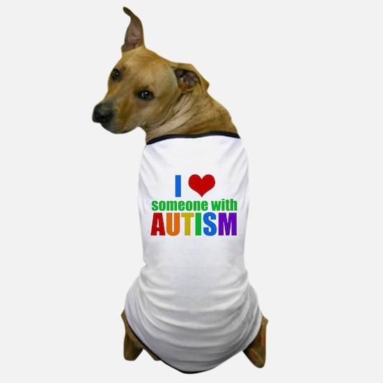 Autism Love Dog T-Shirt