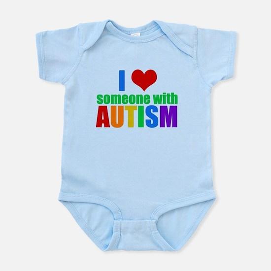 Autism Love Baby Light Bodysuit