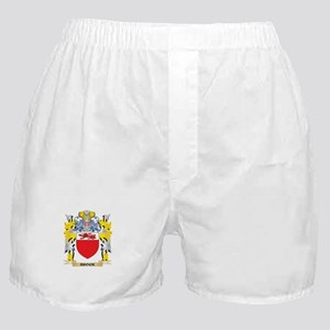 Brock Coat of Arms - Family Crest Boxer Shorts