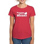 Everyone Loves a Blonde Women's Dark T-Shirt