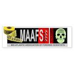 MAAFS_logo Bumper Sticker