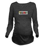 MAAFS_logo Long Sleeve Maternity T-Shirt