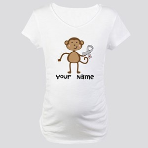 Personalized Diabetes Awareness Maternity T-Shirt