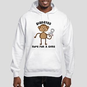 Diabetes Hope For A Cure Hooded Sweatshirt