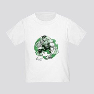 Hulk Grunge Toddler T-Shirt