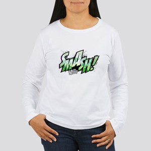 Hulk Smash Women's Long Sleeve T-Shirt