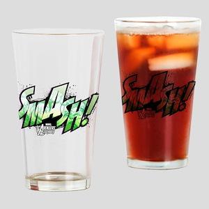 Hulk Smash Drinking Glass