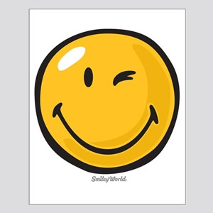 friendly wink Poster Design