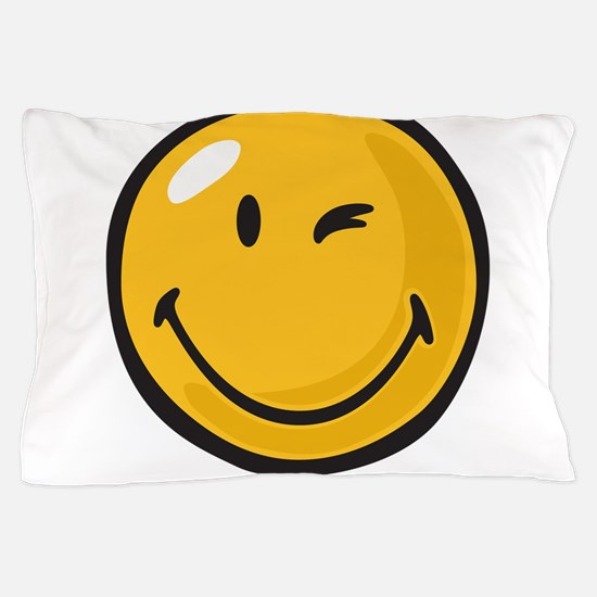friendly wink Pillow Case