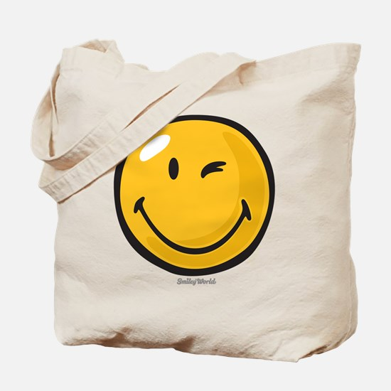 friendly wink Tote Bag