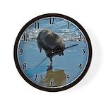Keeshond Ballet Wall Clock