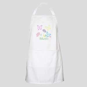 Personalize mom Flowers & Butterflies Apron