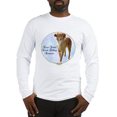 Toller Portrait Long Sleeve T-Shirt