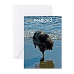 Keeshond Ballet Greeting Cards (Pk of 10)