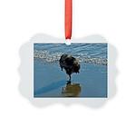 Keeshond Ballet Picture Ornament