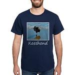 Keeshond Ballet Dark T-Shirt