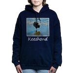 Keeshond Ballet Women's Hooded Sweatshirt