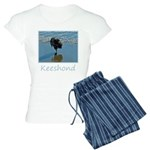 Keeshond Ballet Women's Light Pajamas
