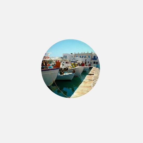 Summer in Greece Mini Button
