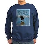 Keeshond Ballet Sweatshirt (dark)