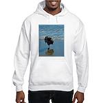 Keeshond Ballet Hooded Sweatshirt