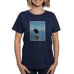 Keeshond Ballet Women's Dark T-Shirt