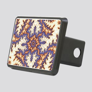 kaleido fractal bright Hitch Cover