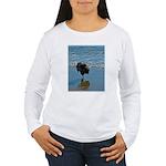 Keeshond Ballet Women's Long Sleeve T-Shirt
