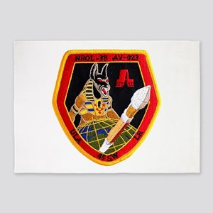 NROL-38 Anubis 5'x7'Area Rug