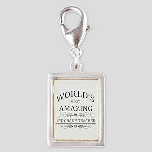 World's Most Amazing 1st. Gr Silver Portrait Charm