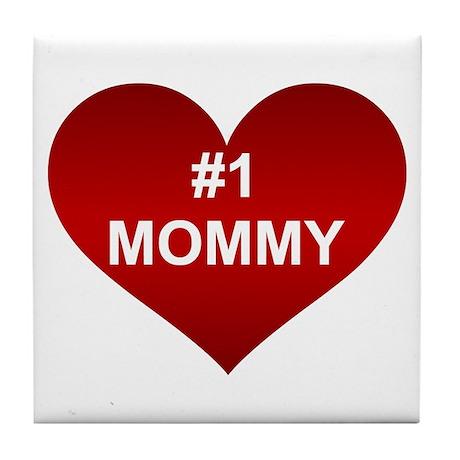 #1 MOMMY Tile Coaster