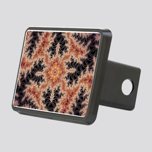 kaleido fractal dark Hitch Cover