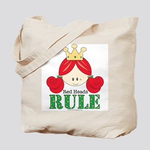 Red Heads Rule Tote Bag
