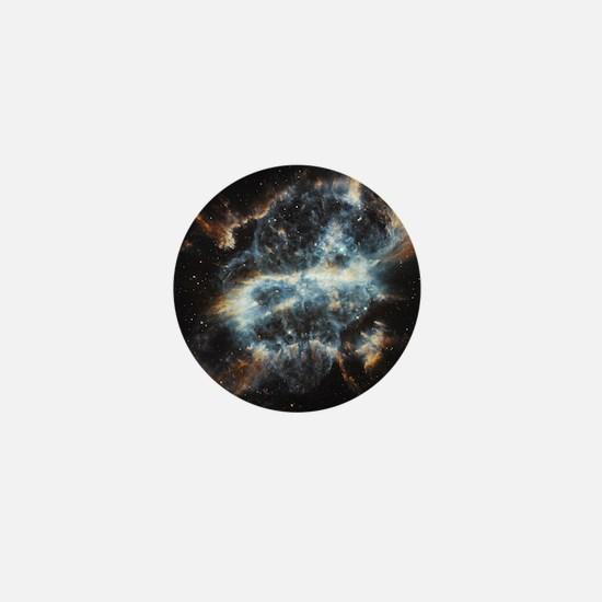 NGC 5189 planetary nebula Mini Button