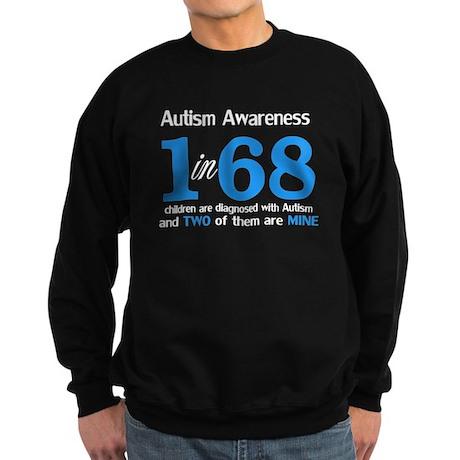 1 in 68 TWO Sweatshirt