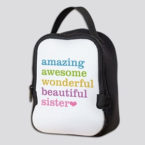 Amazing Sister Neoprene Lunch Bag