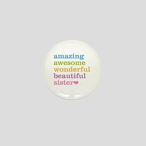 Amazing Sister Mini Button