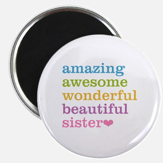 """Amazing Sister 2.25"""" Magnet (100 pack)"""
