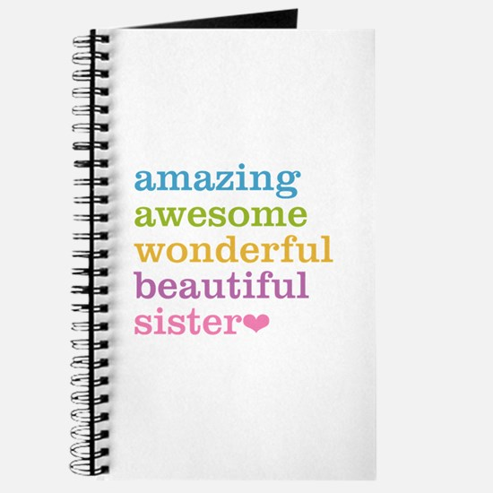 Amazing Sister Journal